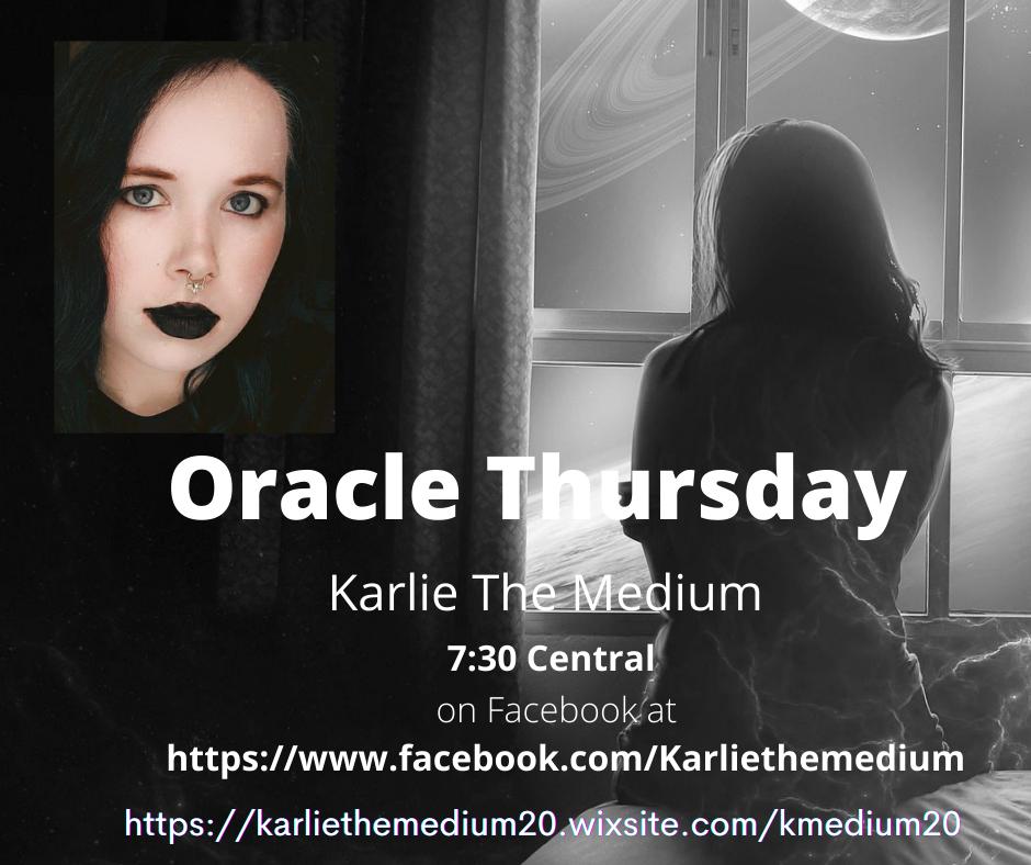 Karlie Bird - Oracle Thursday